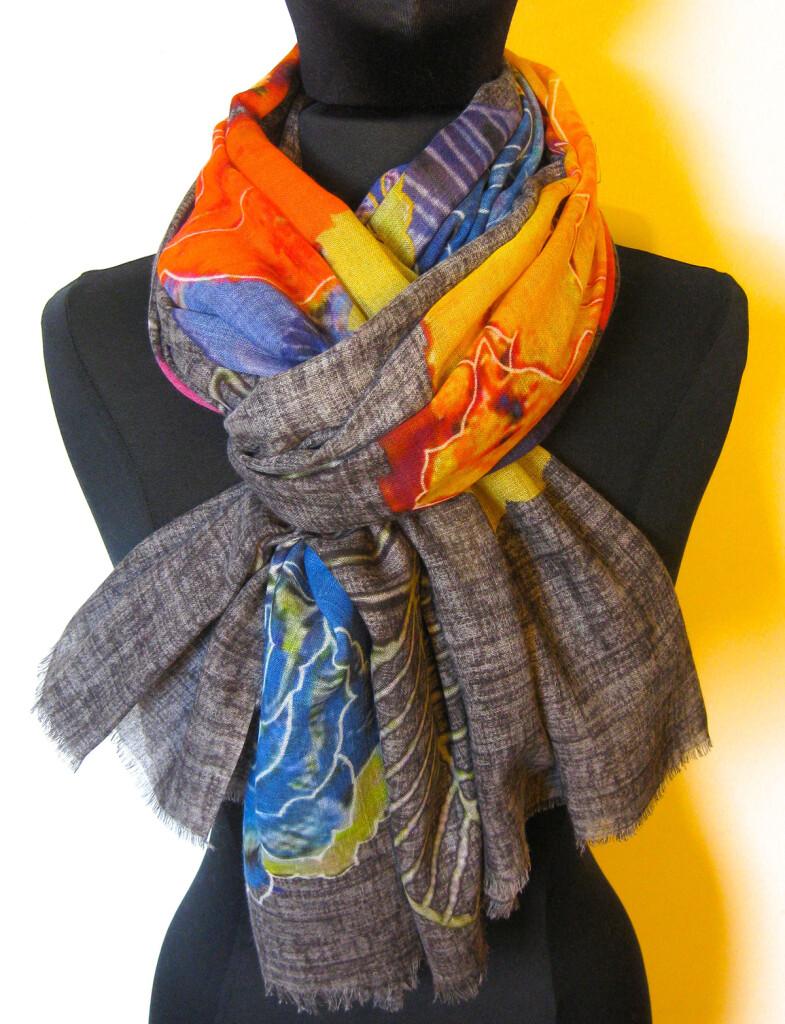 Tørklæde, Sjal i silke og uld. Samarkand har stort udvalg af tørklæder i silke, uld mm.