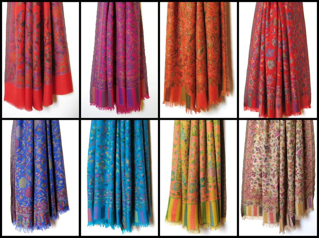 Uld-Cashmere-Tørklæder