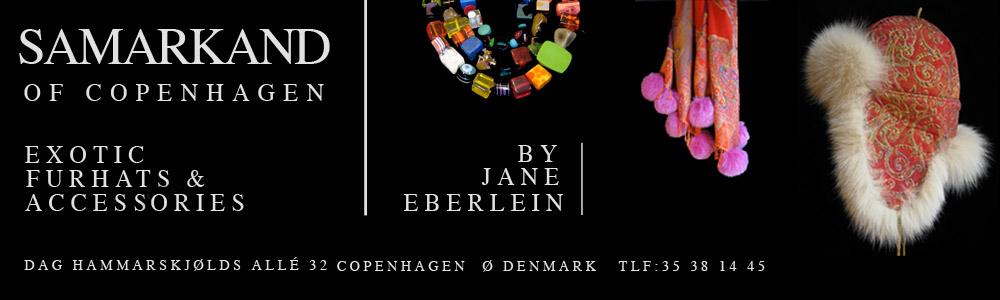 Samarkand of Copenhagen - Exotic Furhats and Accessories by Jane Eberlein - top banner