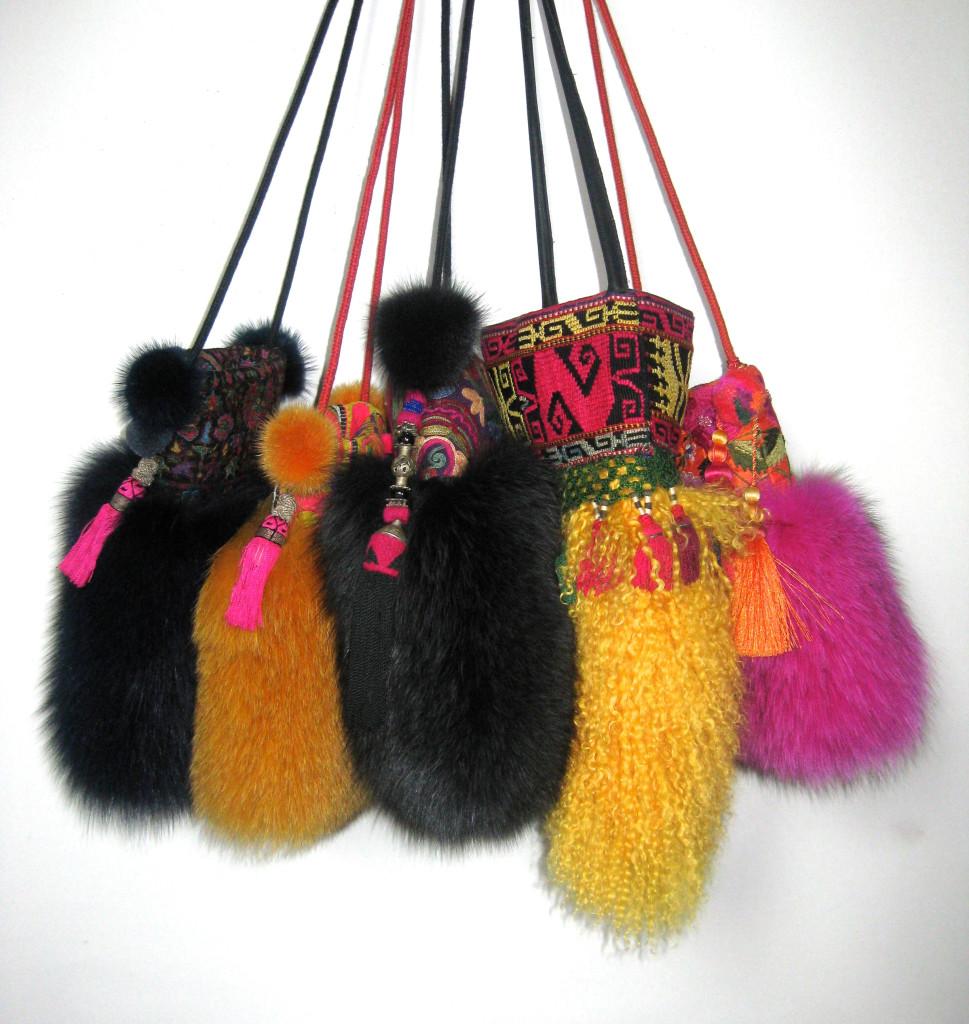 pels tasker, pelstasker, tasker i pels, jane eberlein, samarkanddk, dametasker, lædertasker,skuldertasker, mobiltasker