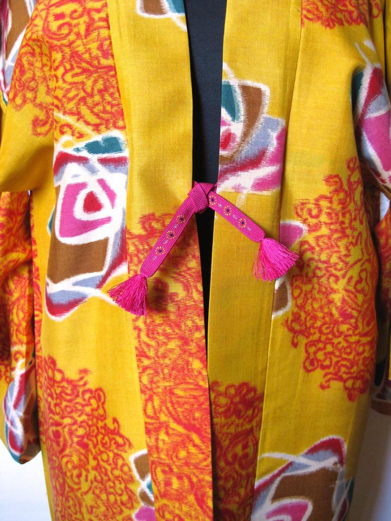 Vintage Japansk kimono jakke. Stort udvalg af vintage silke kimono jakker. Samarkanddk